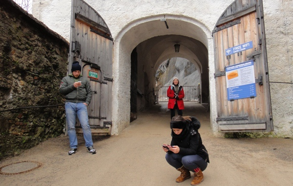 薩爾斯堡-要塞公休