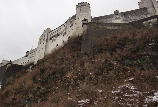薩爾斯堡-要塞峭壁