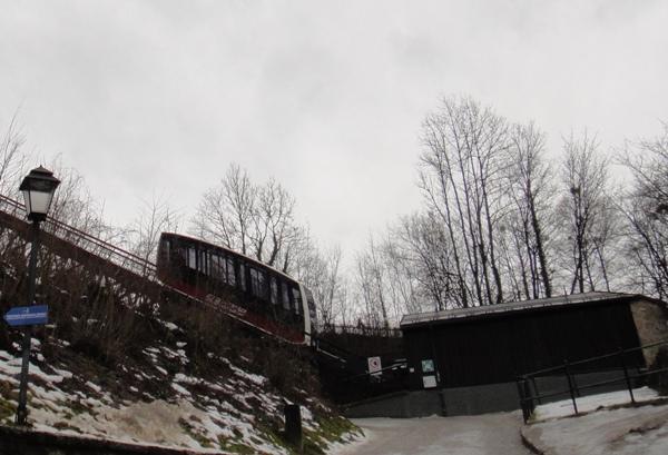 薩爾斯堡-要塞纜車
