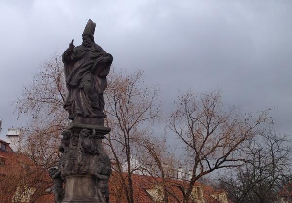 布拉格(2)-查理大橋雕像D