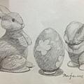 鉛筆素描-2D