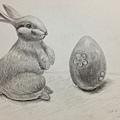 鉛筆素描-2A