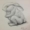 鉛筆素描-2F