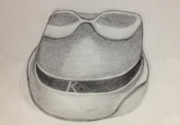 鉛筆素描-1D