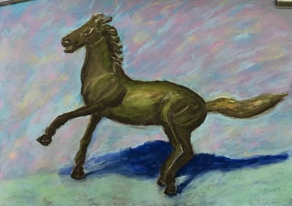黃銅馬-美妃