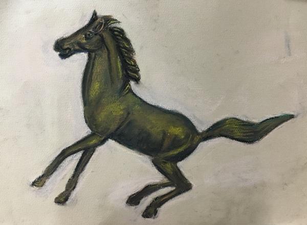 黃銅馬-示範