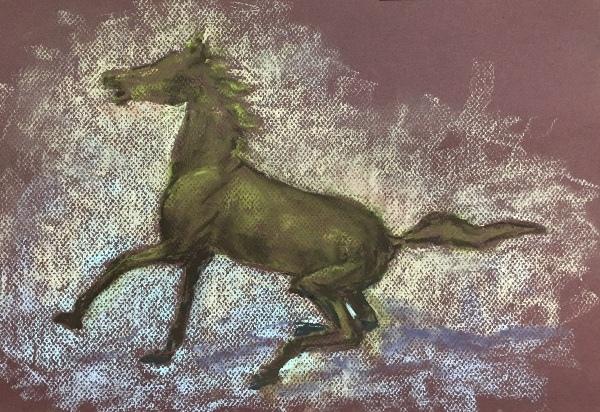 黃銅馬-靜蓉