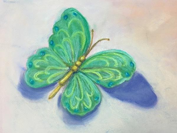 蝴蝶-小美女