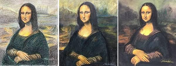 蒙娜麗莎A