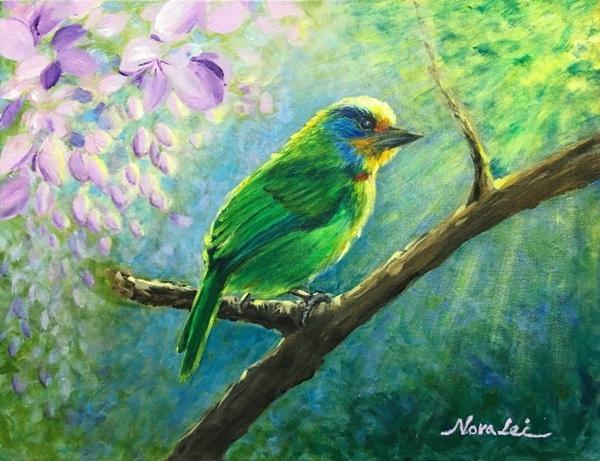 壓克力(1)_5_五色鳥-5