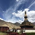 西藏(4)_25_黑色佛塔