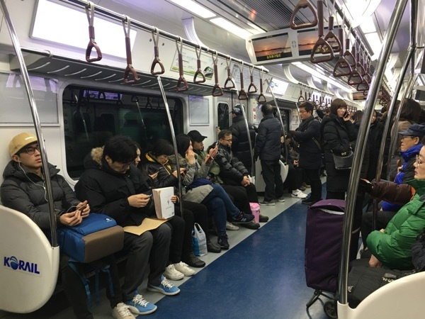 首爾自助(7)_3_車廂