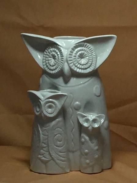 鉛筆素描~貓頭鷹與天使-1