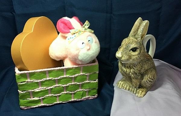 粉彩-情境小兔-2