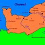 諾曼第地圖