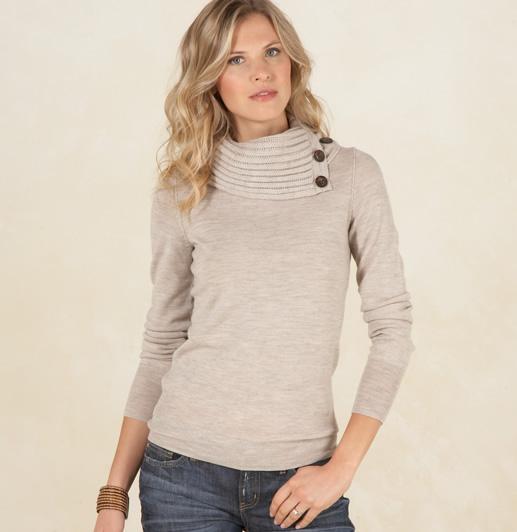 martin osa sweater stone heather