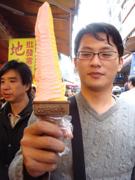 金山老街‧有出名的冰淇淋