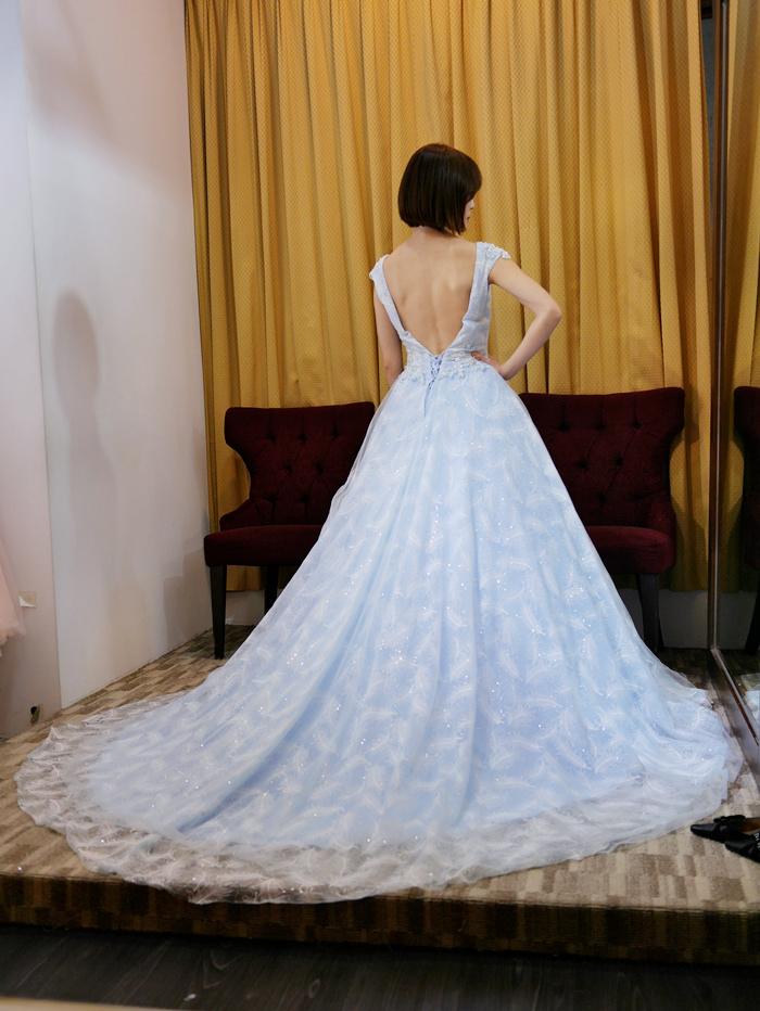 天空藍婚紗