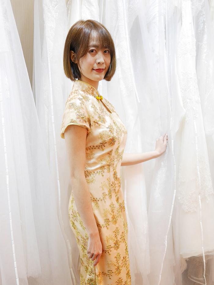 旗袍 婚紗