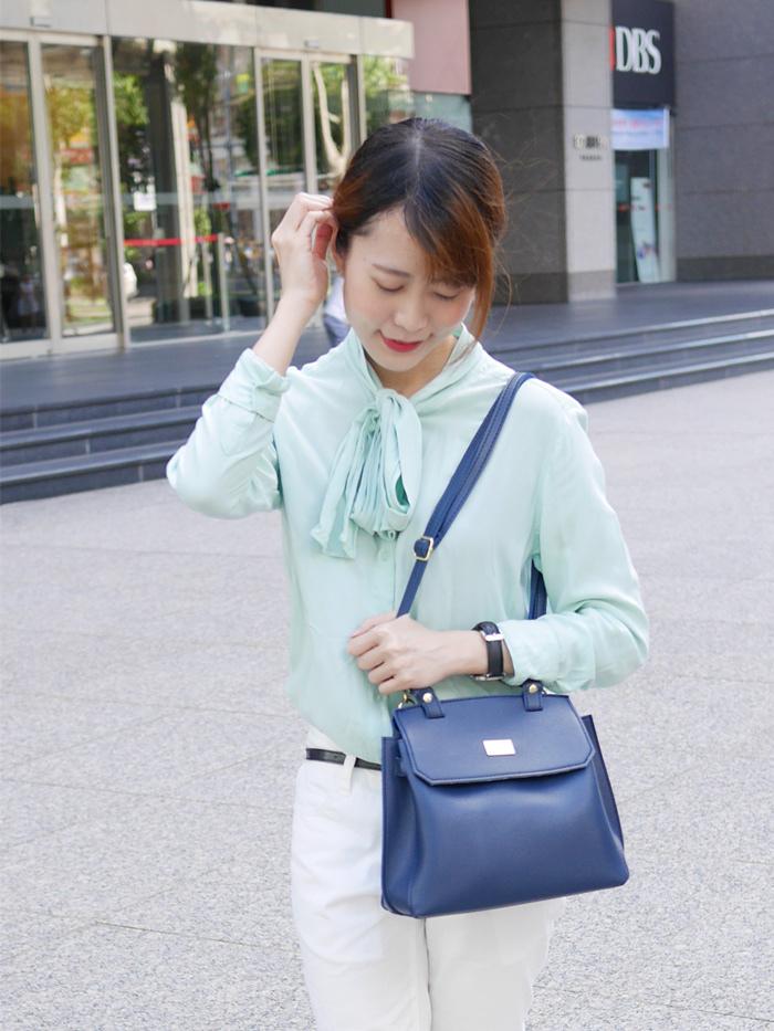 【穿搭好物。網購包包推薦】Clio fashion bag韓系質感平價女包 ♥ Clio的包包顏色超美又好輕巧!!!