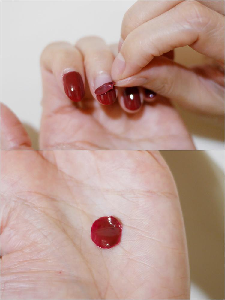 可撕式指甲油