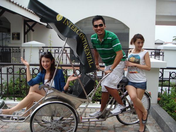 成為代表性特色的人力三輪車