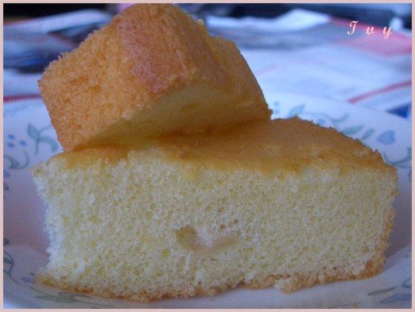 蘋果戚風蛋糕