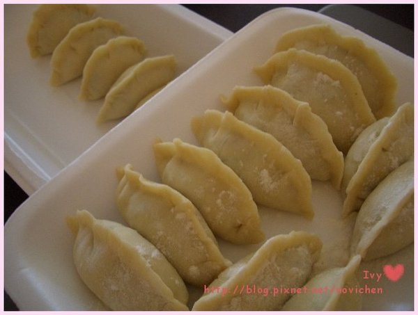 手工雞肉水餃 2