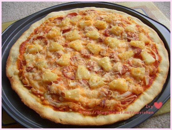 Hawaii薄脆pizza 1