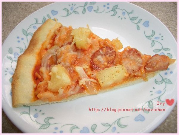 Hawaii薄脆pizza 2