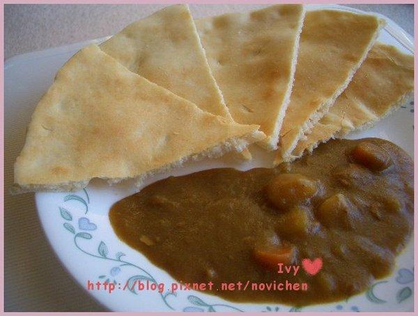 印度咖哩拉餅 2