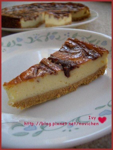 大理石起司蛋糕 1