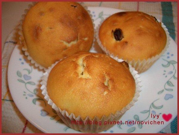 葡萄乾香草muffin
