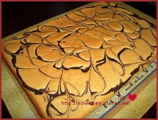大理石戚風蛋糕 1