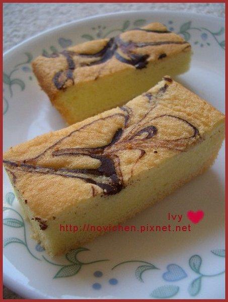 大理石戚風蛋糕 2