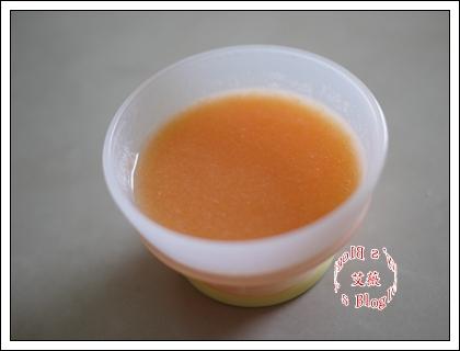 紅蘿蔔米糊