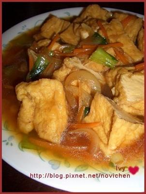 紅燒油豆腐