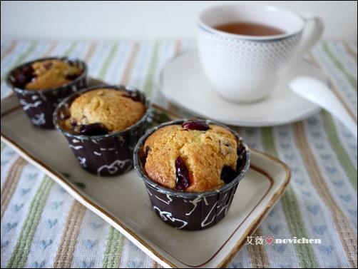 蔓越莓馬芬蛋糕