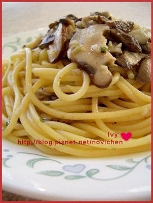 鮮菇義大利麵