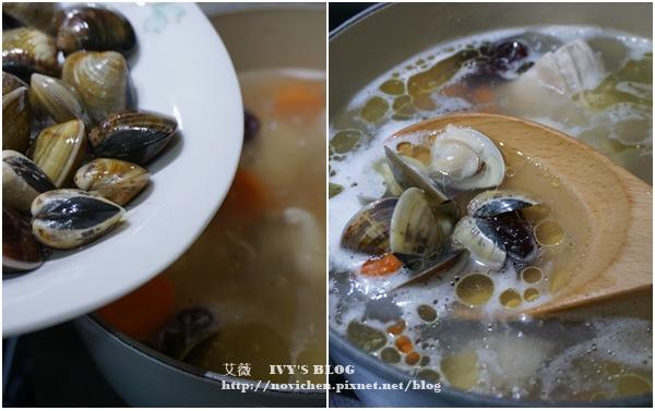 蛤蜊蒜頭雞湯_6.JPG