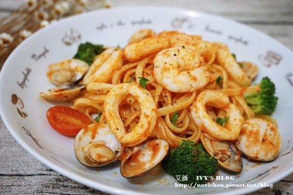 茄汁海鮮義大利麵_1.JPG