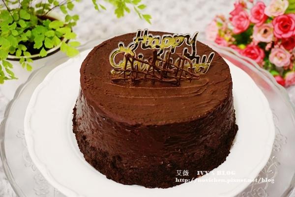 巧克力生日蛋糕_2