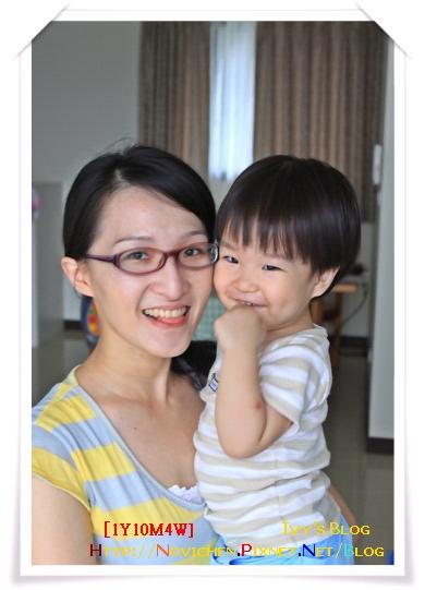 [1Y10M4W] 媽咪跟豆仔的合照.jpg