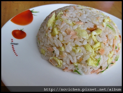 [寶寶食譜] 1Y6M鮭魚蔬菜拌飯.JPG