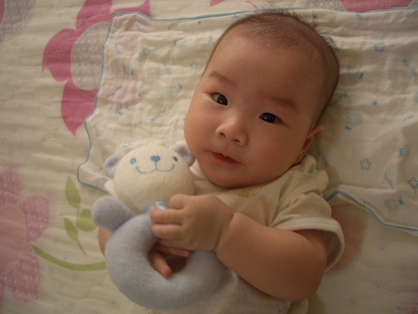 4M1W - 小紅豆跟他的小熊玩偶