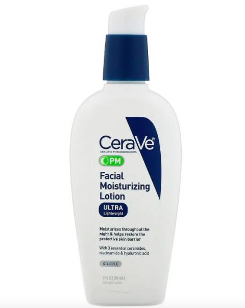 CeraVe, 夜間面部保濕乳液-請記得使用iHerb折扣碼CTB3575
