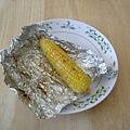 烤好的玉米