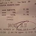 猜猜我們在美國超商總共買了多少呢!!