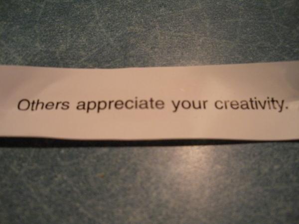 念培抽到的fortune cookies