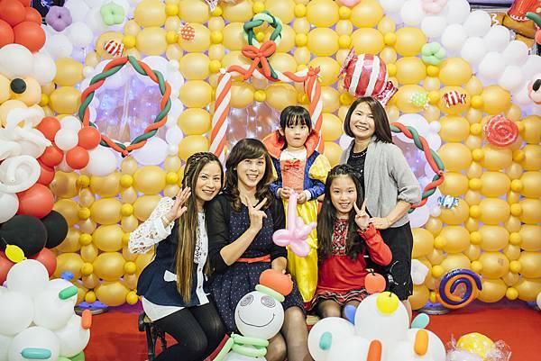 派對氣球佈置